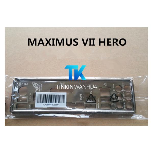 Original IO I//O Shield Back Plate Blende Bracket for ASUS MAXIMUS III FORMULA CA