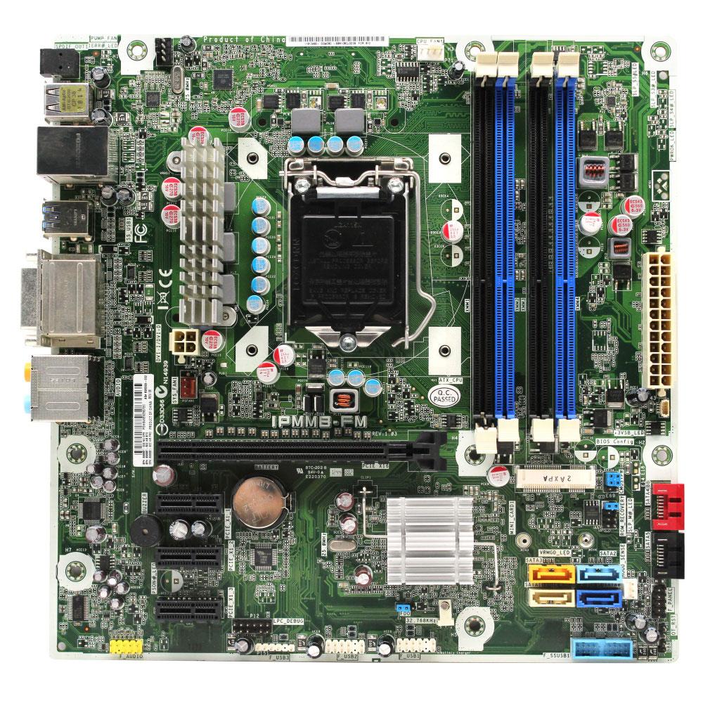 HP IPMMB-FM Socket 1155 Motherboard 696399-002 Tested