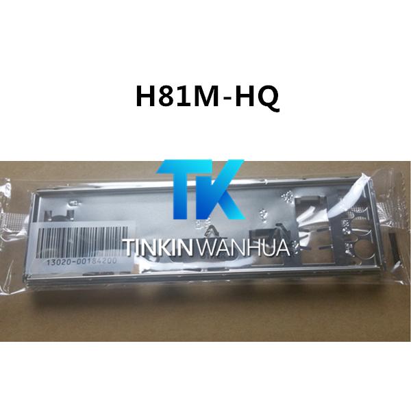 I//O Shield For backplate GIGABYTE GA-H81M-H Motherboard Backplate IO