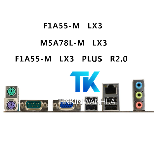 H61M-E P8H61-M LX3 R2.0 ASUS I//O IO SHIELD BLENDE P8H61-M LX3,P8H61-M LX3 PLUS