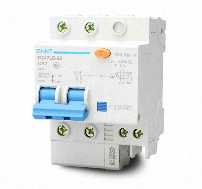 40Amp 30mA 3Pole RCD//RCCB  Residual Current  Circuit Breaker CHINT DZ47LE-32