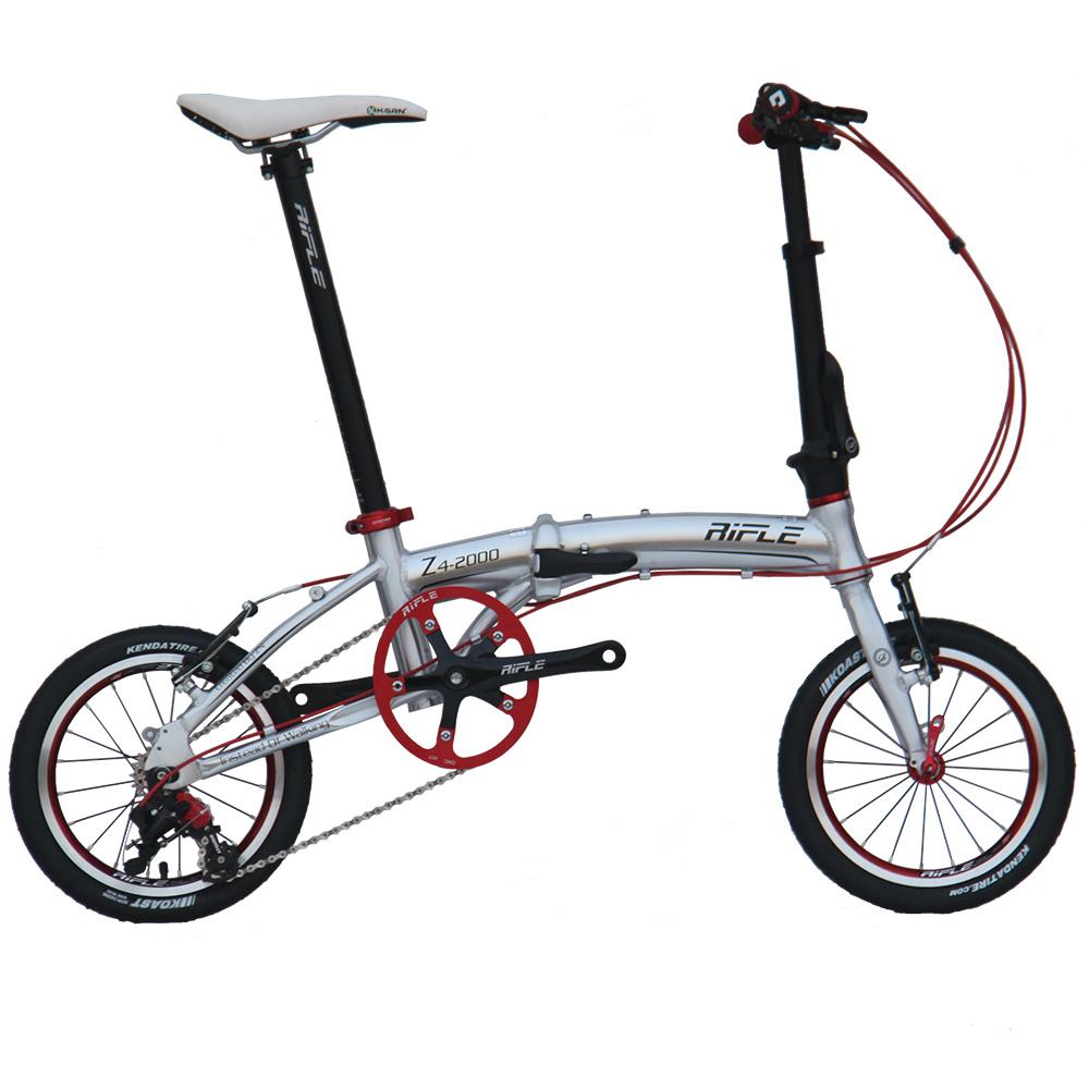 rilfe alloy folding bike 14 mini velo bike foldable. Black Bedroom Furniture Sets. Home Design Ideas