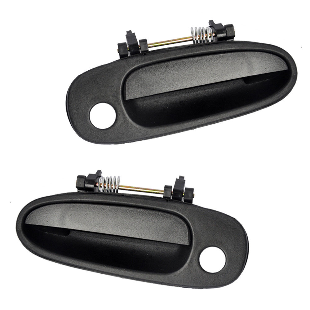 Outside and Interior Door Handle Left For 93-97 Toyota Corolla Geo Prizm 4pcs