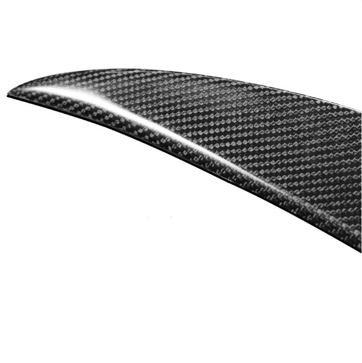 High Quality Carbon Fiber M4 Style Rear Spoiler TRIM FOR