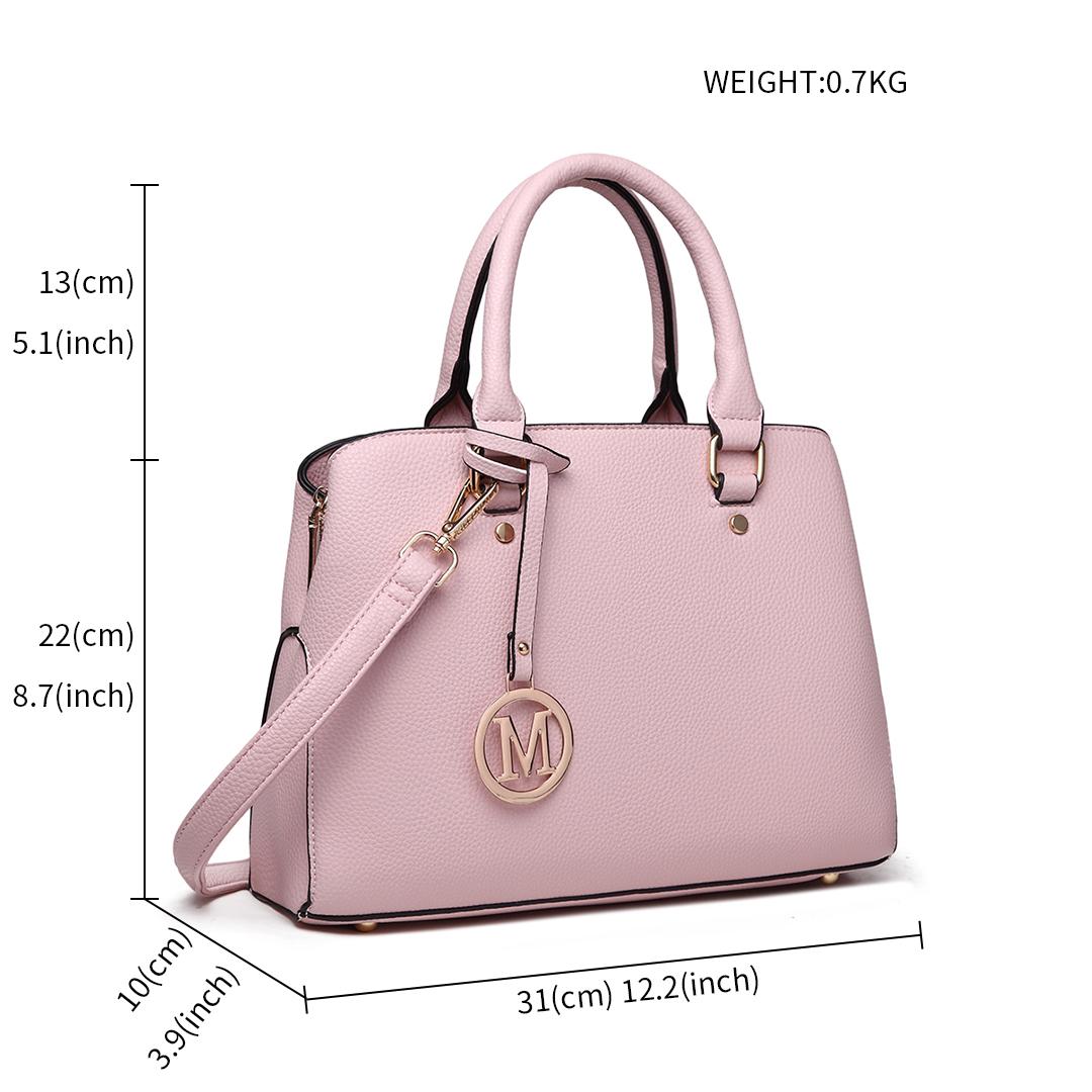 1d1392201d Ladies Designer Shoulder Bag PU Leather Handbag Tote Square Satchel ...