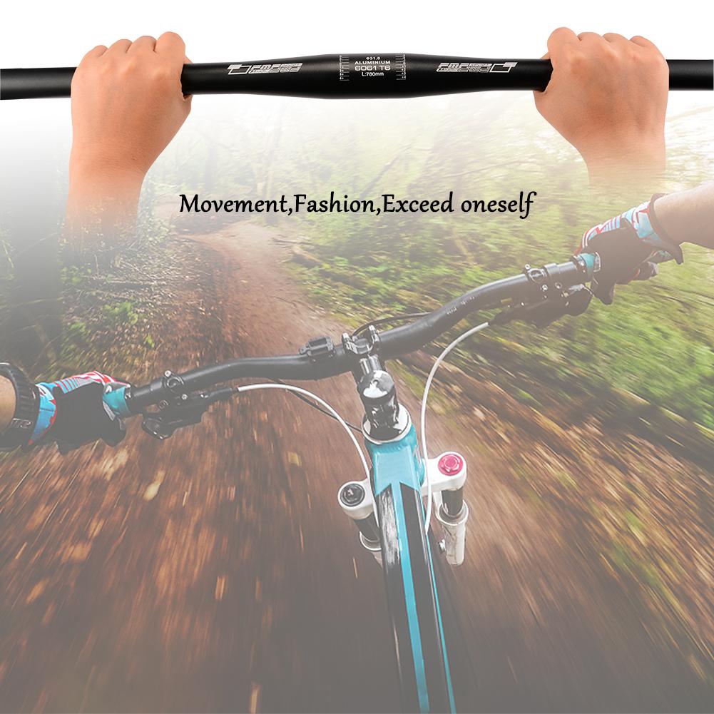 31.8*780mm Bicycle Riser Bar 6° Aluminum Alloy MTB Mountain Road Bike Handlebar