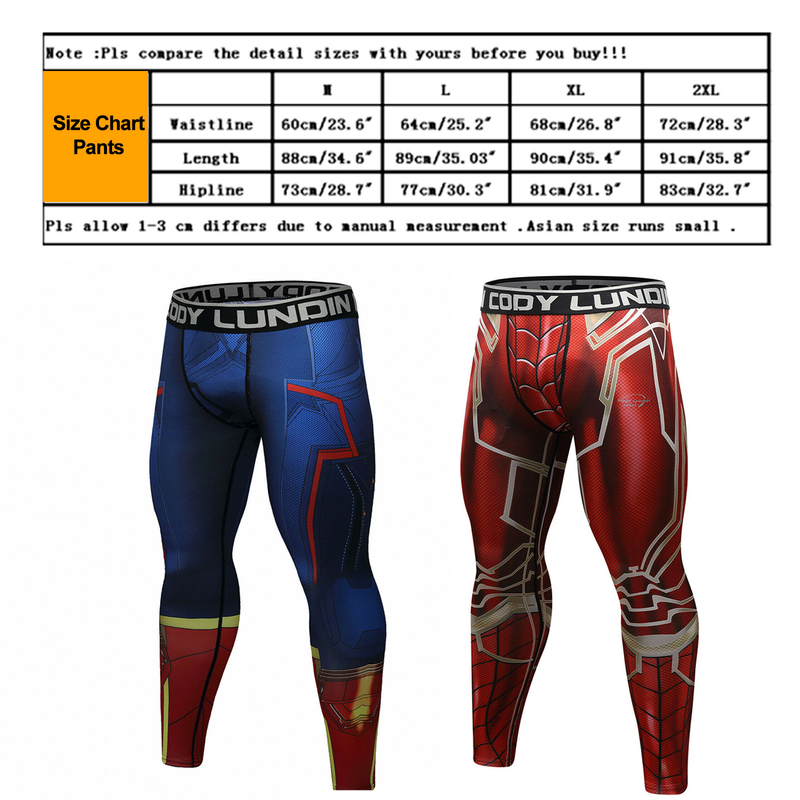Men-039-s-Avengers-4-Compression-T-Shirts-Iron-Cosplay-Costumes-Quick-dry-Fitness thumbnail 23