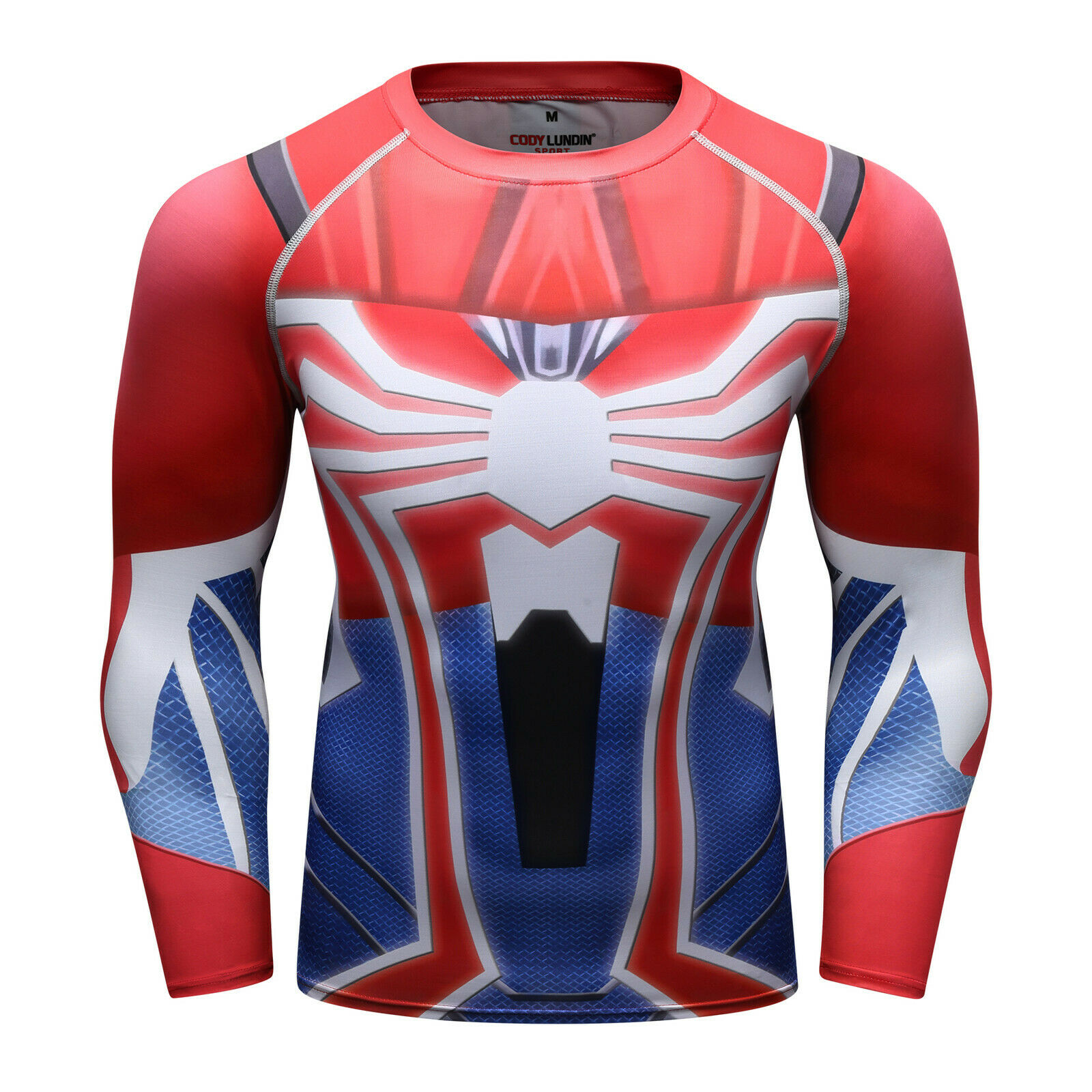 Men-039-s-Avengers-4-Compression-T-Shirts-Iron-Cosplay-Costumes-Quick-dry-Fitness thumbnail 45