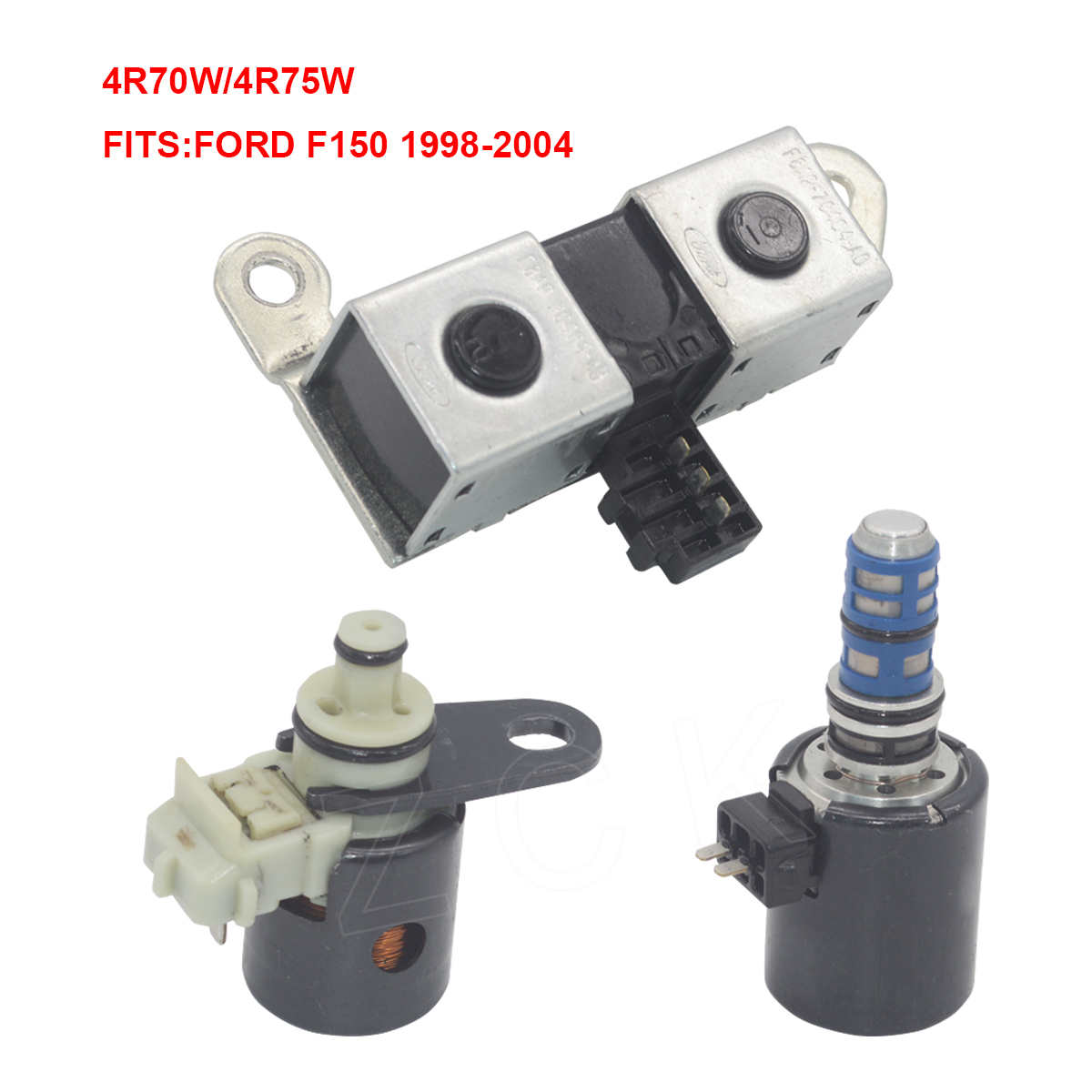 Oem 4r70w 4r75w Transmission Tcc Epc Shift Solenoid Kit For Ford