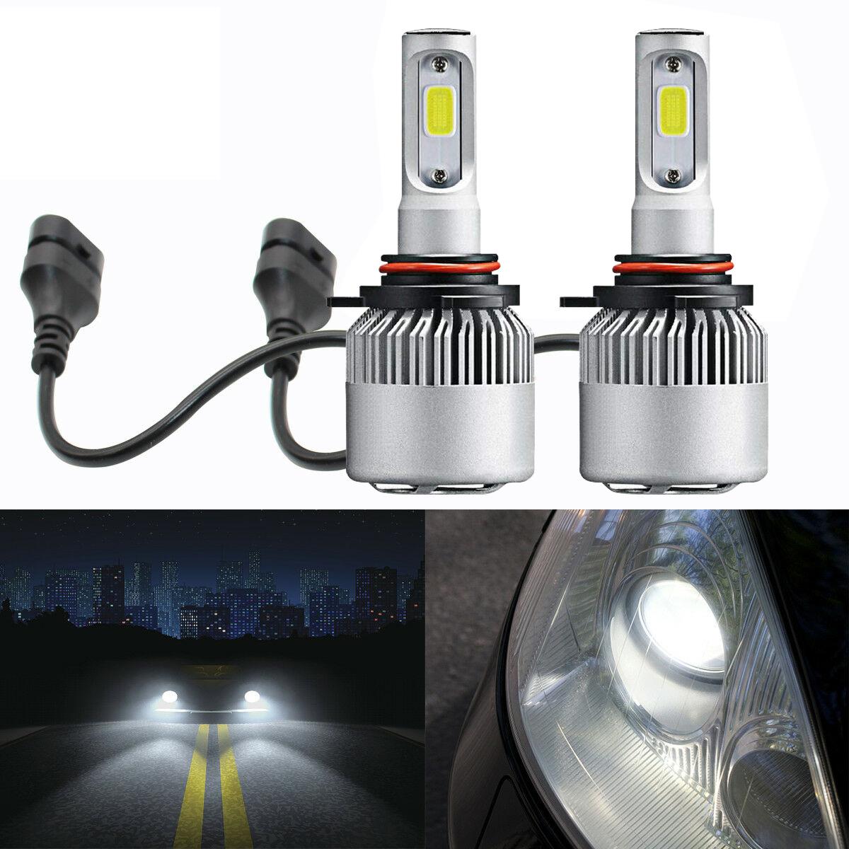 2x 9012 HIR2 LED Headlight Bulb High//Low Beam Kit 80W 6000K Decoders