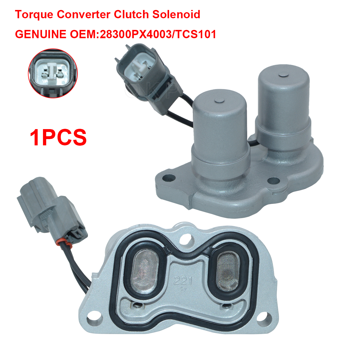Oem Transmission Shift Control Solenoid 28300 Px4 003 For Honda 1999 Accord Acura Cl
