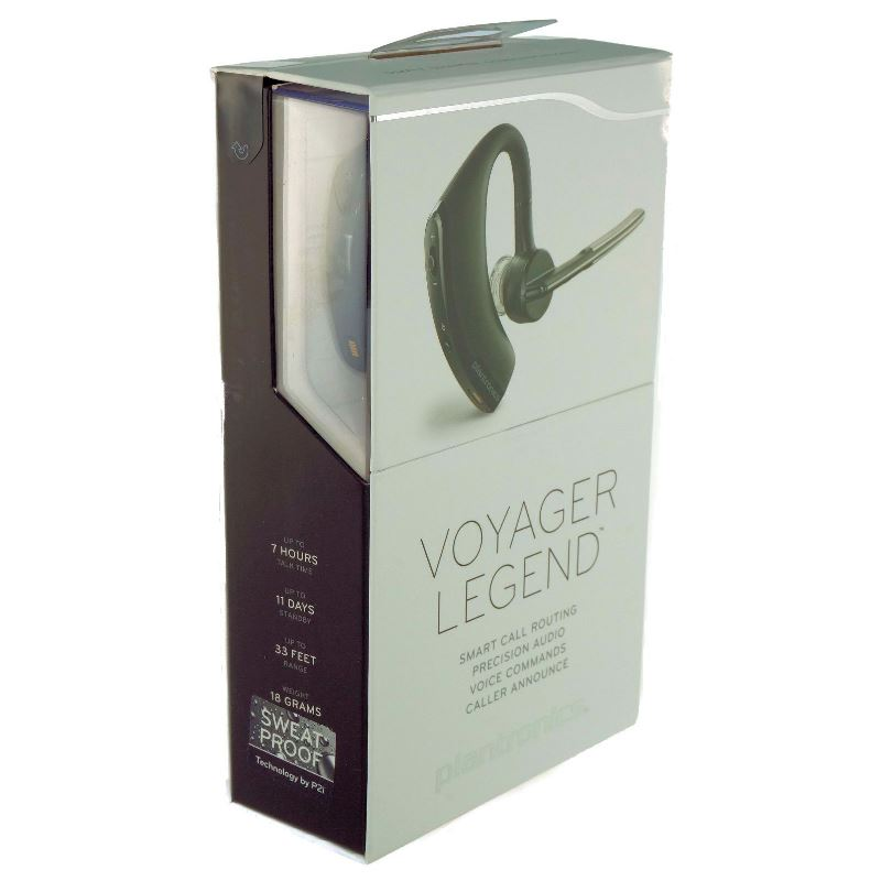 Plantronics Voyager Legend Wireless Mobile Bluetooth Ear Hook Headset 8998005 Ebay