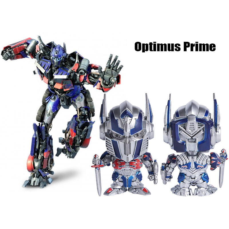 Transformers Optimus Bumblebee Megatron Hound Hot Rod Figure Collect Robot Toy
