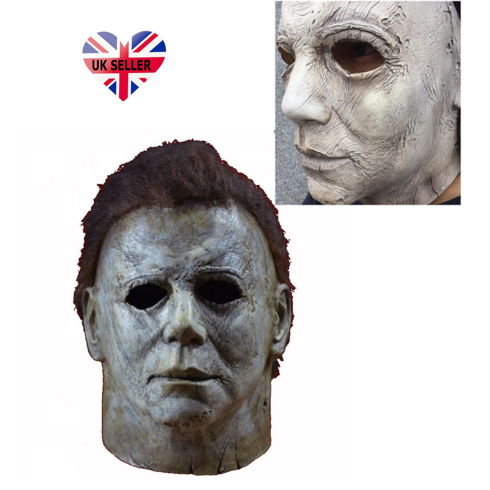 Michael Myers Mask Halloween 1.Details About Michael Myers Mask Halloween Ii Deluxe Latex Full Head Adult Size Fancy Dress Uk