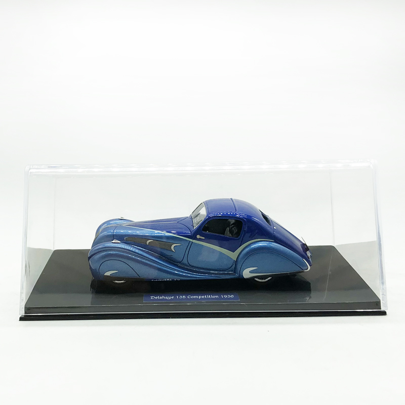 DELAHAYE 135 COMPETITION TEARDROP COUPE FIGONI FALASCHI 1936 1//43 LUXCAR 018