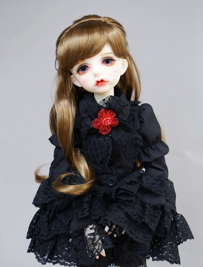 PF 16mm Dark Brown And Gray Suitable For BJD Doll Dollfie Glasses