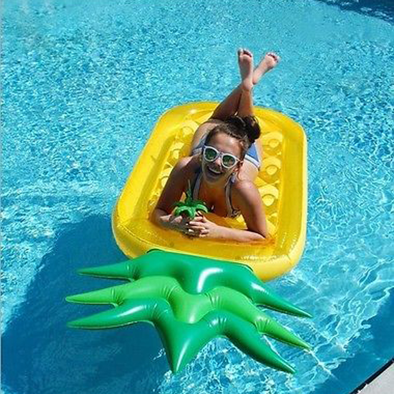 Float Inflatable Raft,Inflatable Pool Toy Giant Inflatable Pineapple Slice