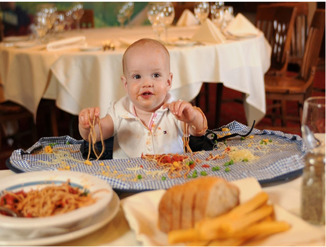 new baby high chair mat infants waterproof feeding eating round fold table mat. Black Bedroom Furniture Sets. Home Design Ideas
