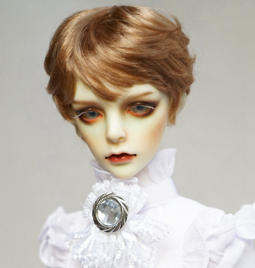 PF Wig For 1//3 1//4 BJD Doll Dollfie Outfits Hand Made
