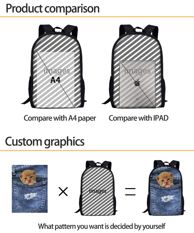 b3bf3e5a295a Cool Black Fire Skull Print Backpack Men Boys School Bag Casual ...