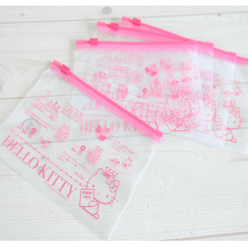 Details about Sanrio Hello Kitty Clear Travel Multi Pouch Makeup Pouch Case  Zipper Bag 5p Set 745bb21d200ec