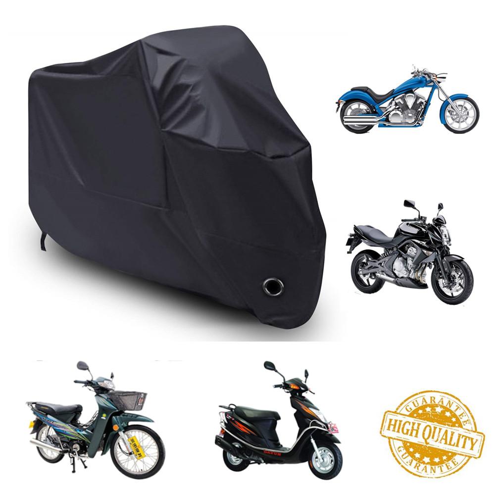 Motorcycle Cover Waterproof Outdoor Rain Dust UV Scooter Motorbike Protector M