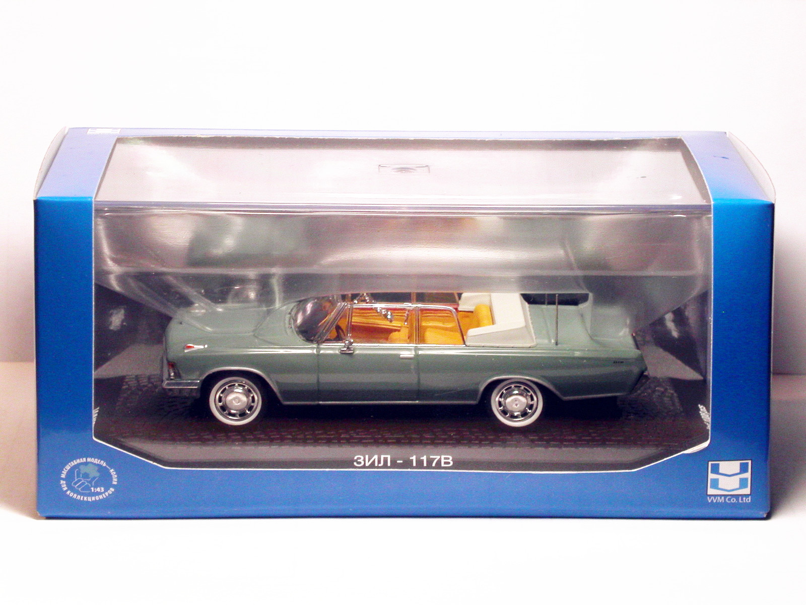 Norev 1//43 ZIL 117V Cabriolet Green Diecast Car Model Toy Collection Gift