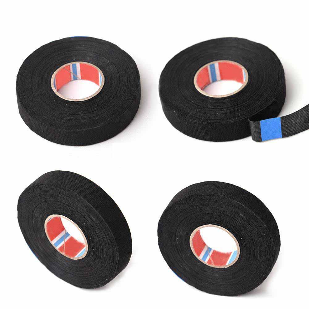 19mmx 25M Adhesive Cloth Fabric Tape Cable Looms Wiring Harness HICA