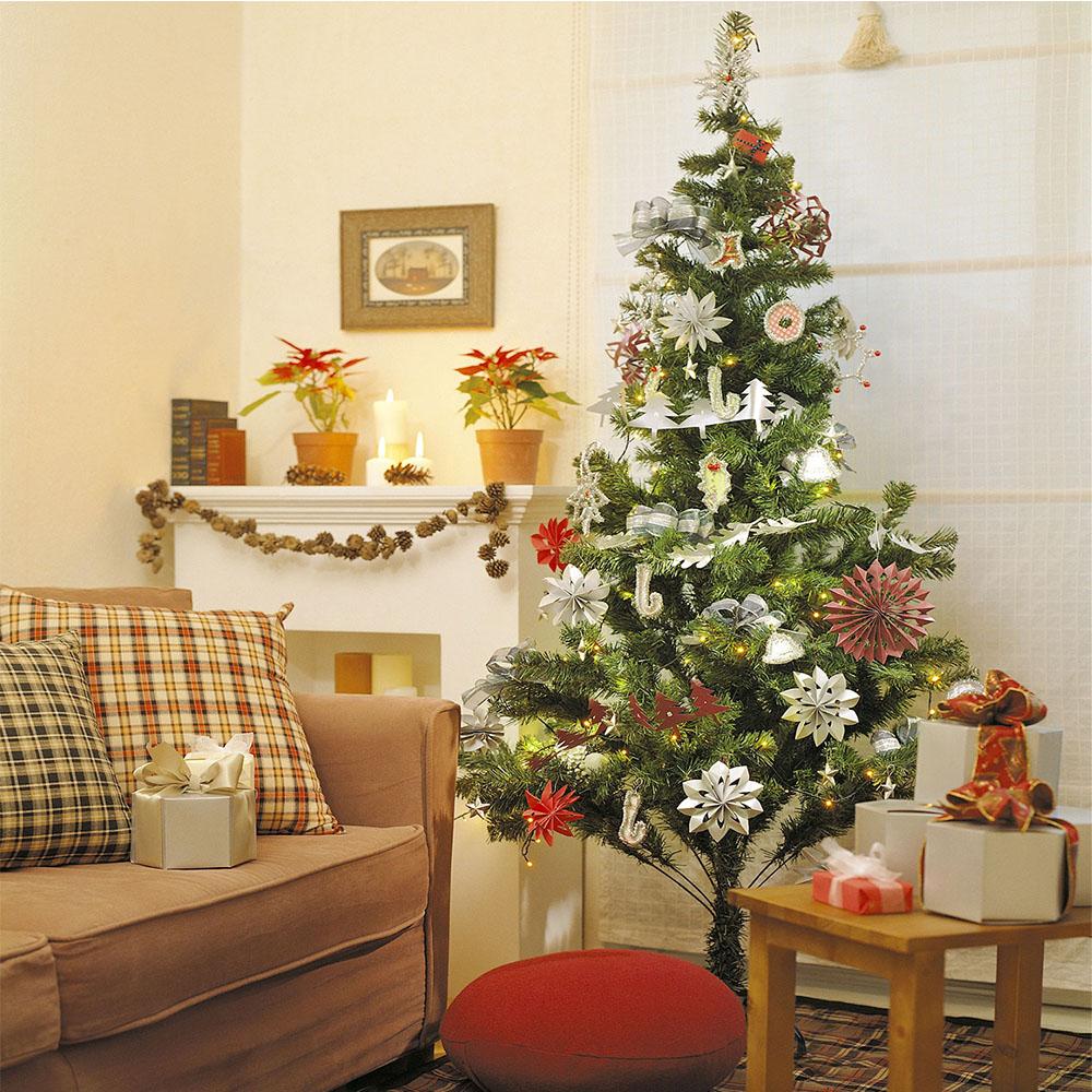 120 180cm weihnachtsbaum christbaum k nstlicher tannenbaum kunstbaum dekobaum ebay. Black Bedroom Furniture Sets. Home Design Ideas