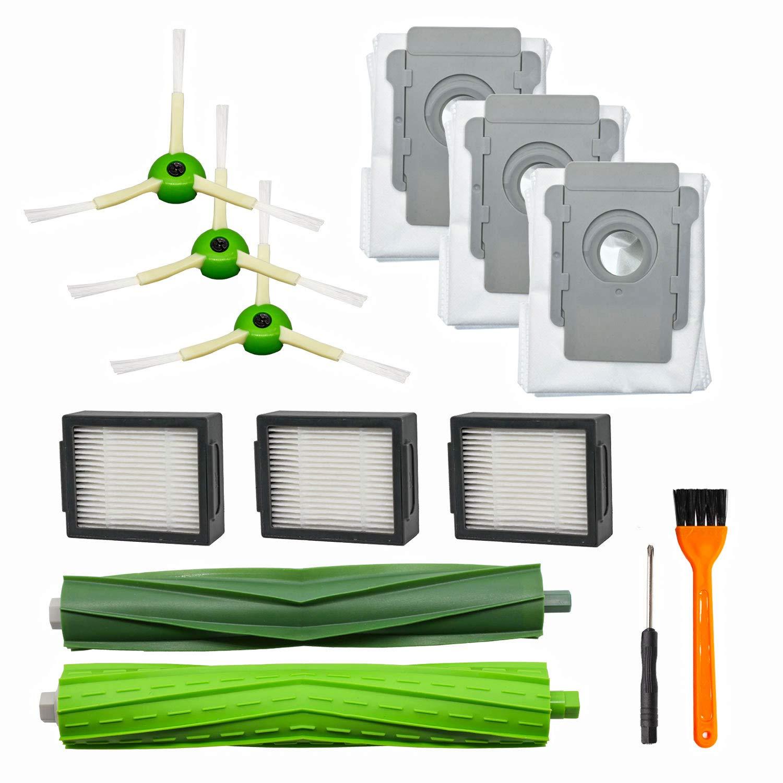 10 pack Side Brushes for iRobot Roomba i7 i7+//i7 Plus E5 E6 E7 Vacuum Parts