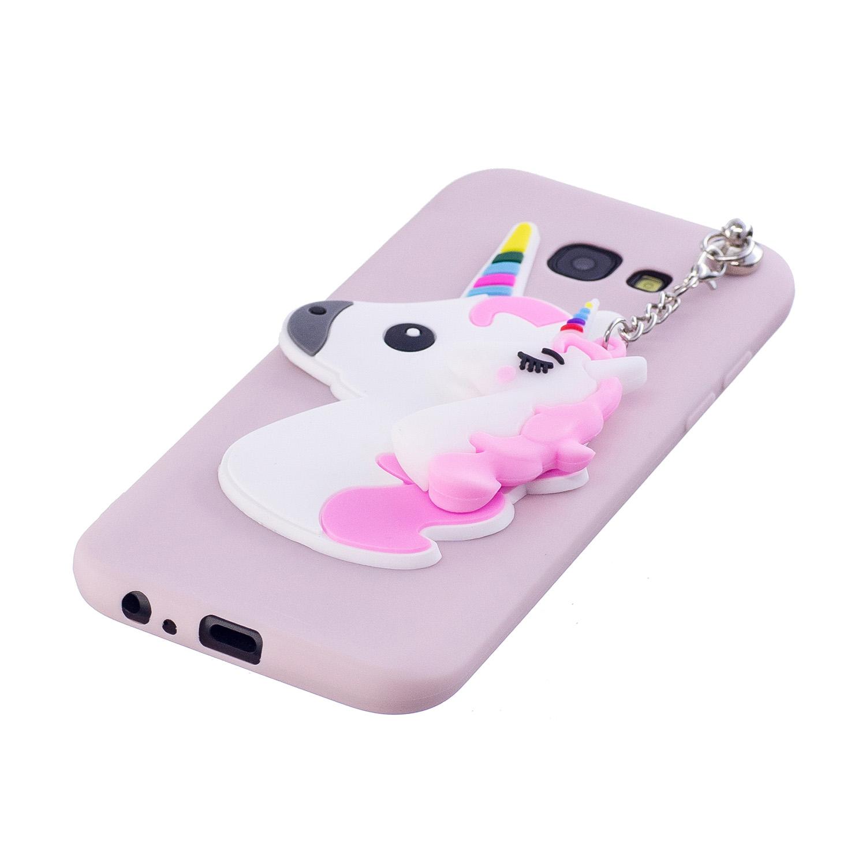 Unicorn Pattern Silicone Get Slim Bumper Soft Case