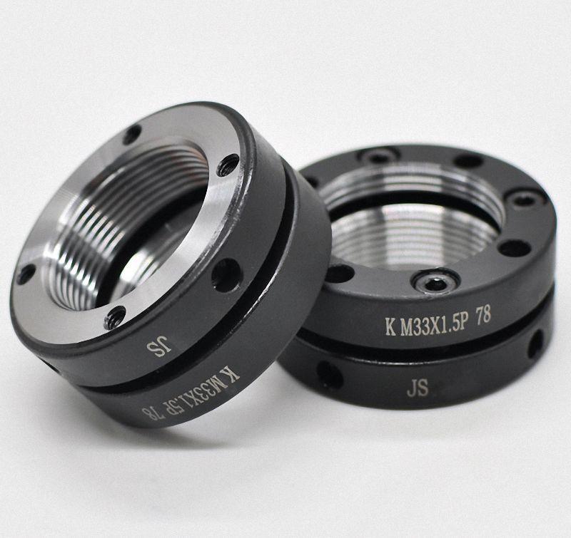 Select M16 M60 K Type Precision Ball Screw Rod Locknut Retaining Castle Nut