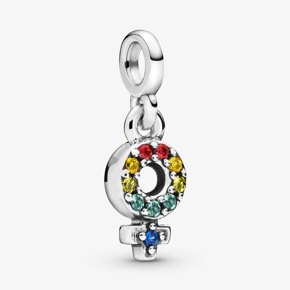 Peace tree Silver European CZ Charm Crystal Spacer Beads Fit Necklace Bracelet