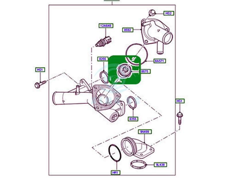 Mercury Seadoo 2.5 2.4 225 300 240 EFI M2 Reed Valve Block Cage 815242A3 876922