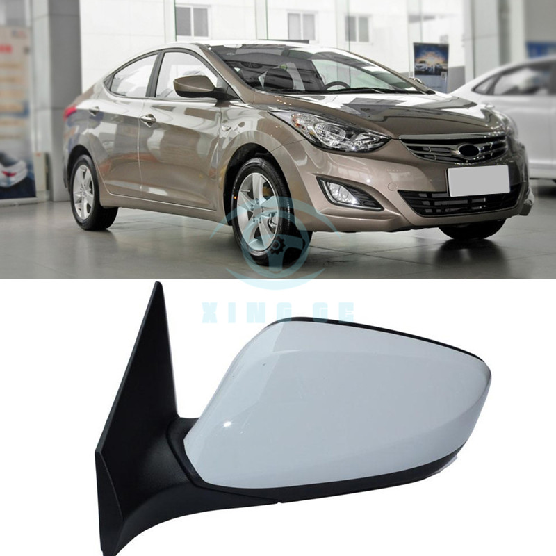 Car Left Side Rear View Mirror Cover Assy For Hyundai Elantra 2012-2015 3 Wire