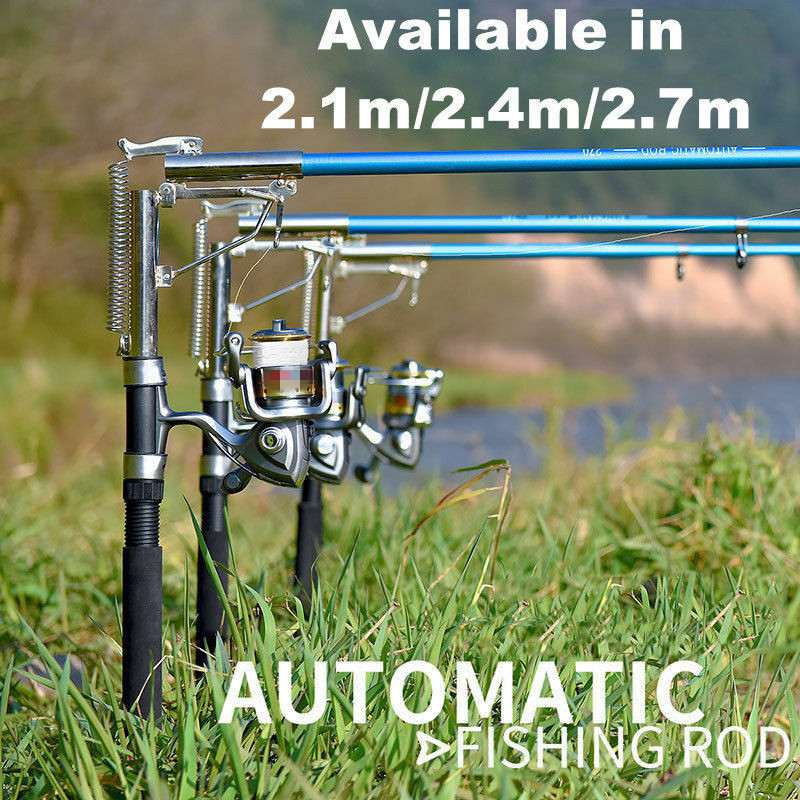 Portable Automatic Telescopic Travel Fishing Rod Sea River Lake Spinning Pole