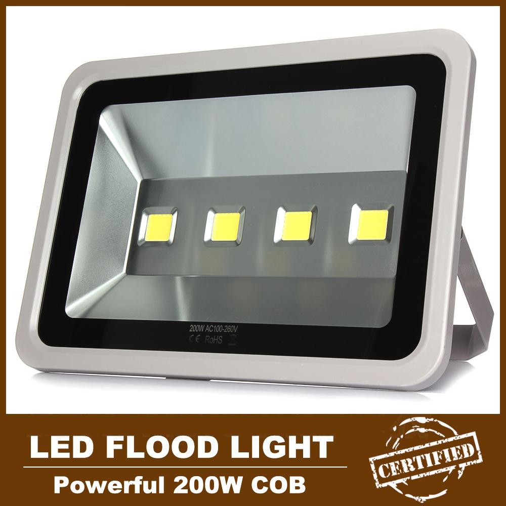 Outdoor Lighting Equipment 4pcs 200w Watts Led Flood Light