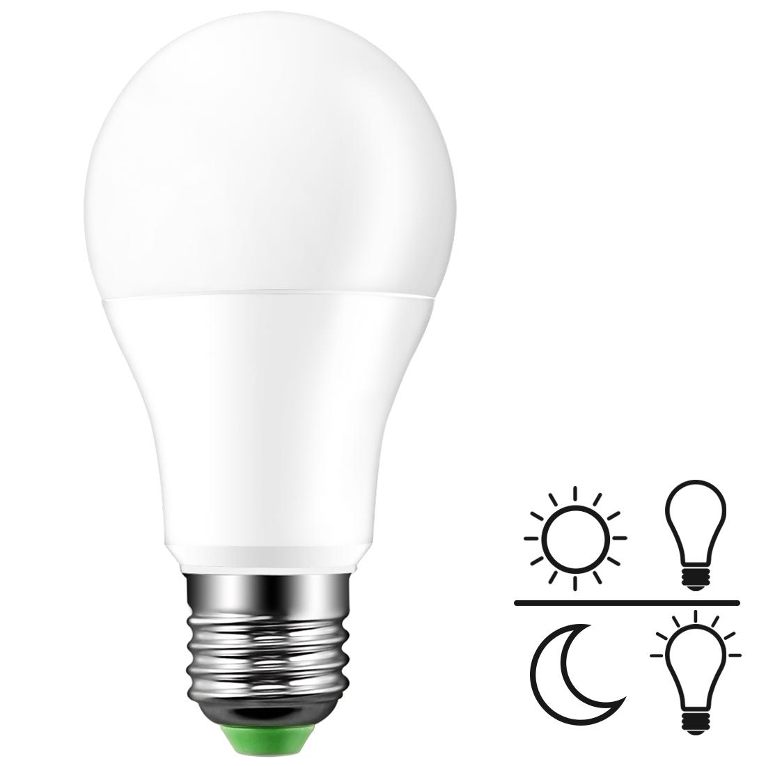 Dusk To Dawn Porch Light Bulb: LED Sensor Bulb E27 7W 220V 110V Dusk To Dawn Light Sensor