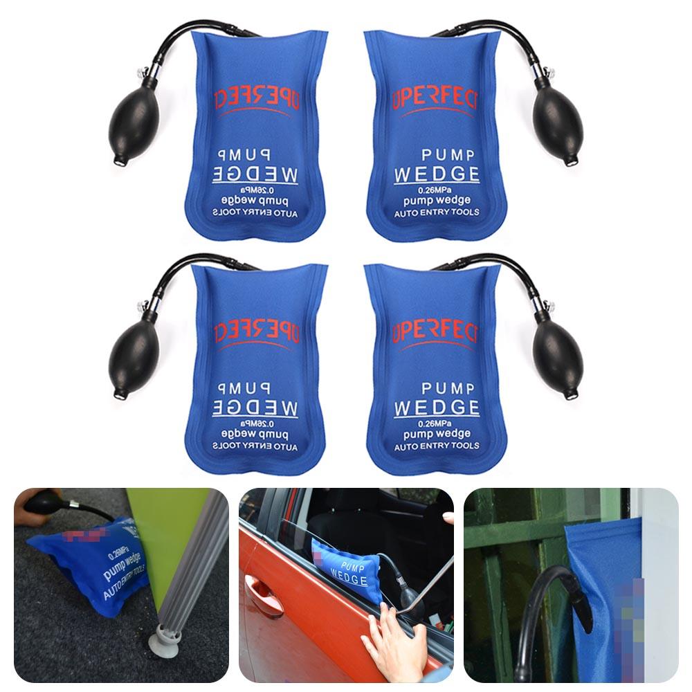4pcs Inflatable Air Bag Wedge Pump Clamp Shim Air Tools