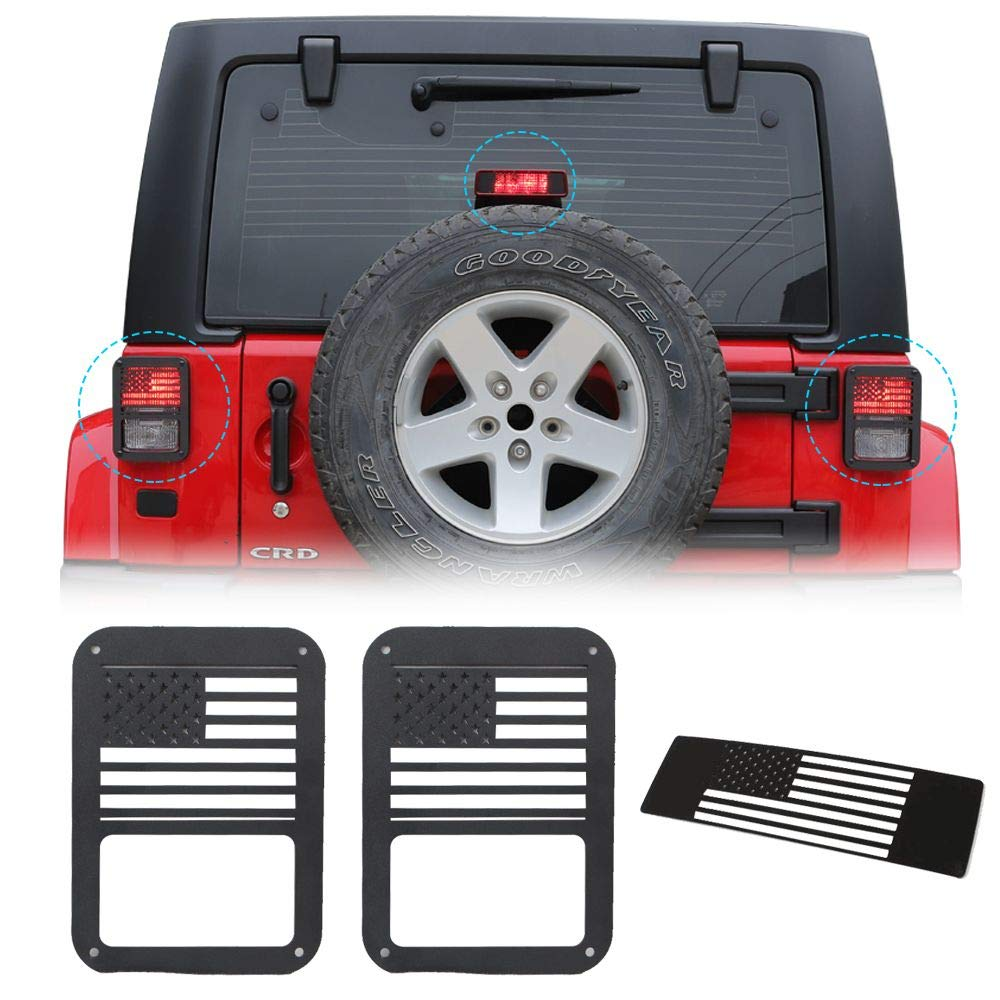 Tail Light Guards Covers Brake Light Cover For Jeep
