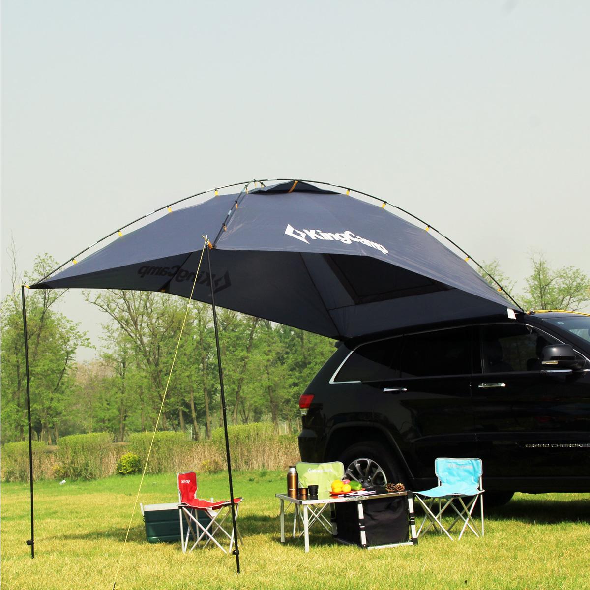KingCamp Portable Car Sun Shelter Durable 4-6 Person ...