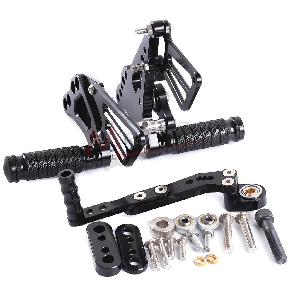 CNC Rearset Rear Set Footrest Peg Pedal For SUZUKI GSXR600//750 11-2016 GSXR1000