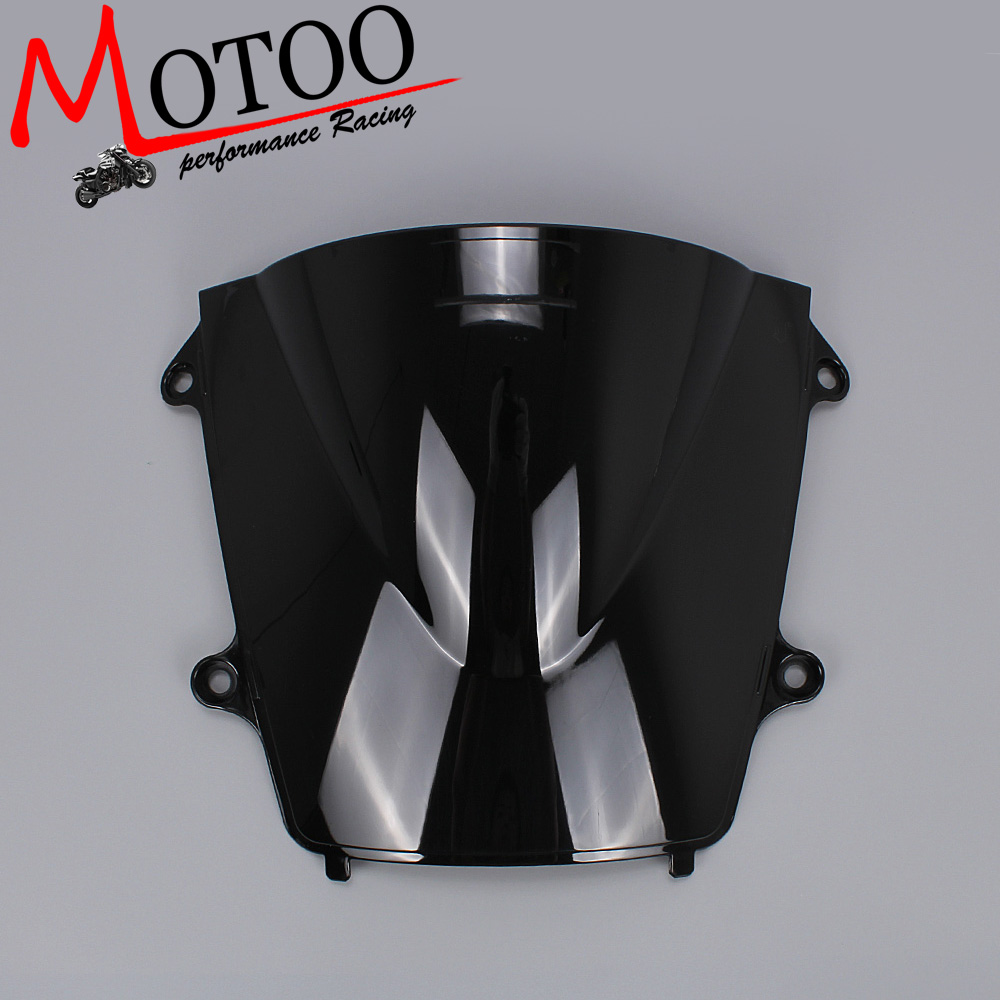 Black Motorcycle Windshield Windscreen For Honda CBR600RR 2013-2016