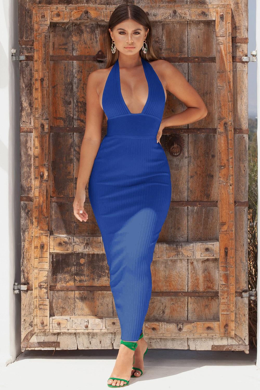 6aa95f61c5 UK Womens Sleeveless Ladies Midi Dress Plain Jersey Stretch Bodycon Plus  Size