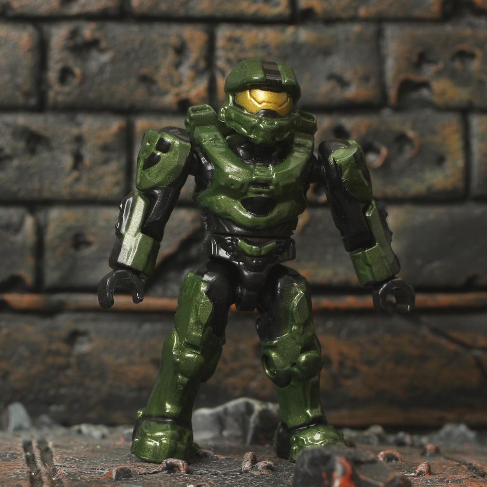 Halo Mega Bloks Forward Unto Dawn Unsc Master Chief Mark Vi Mini Figure 97117 Ebay