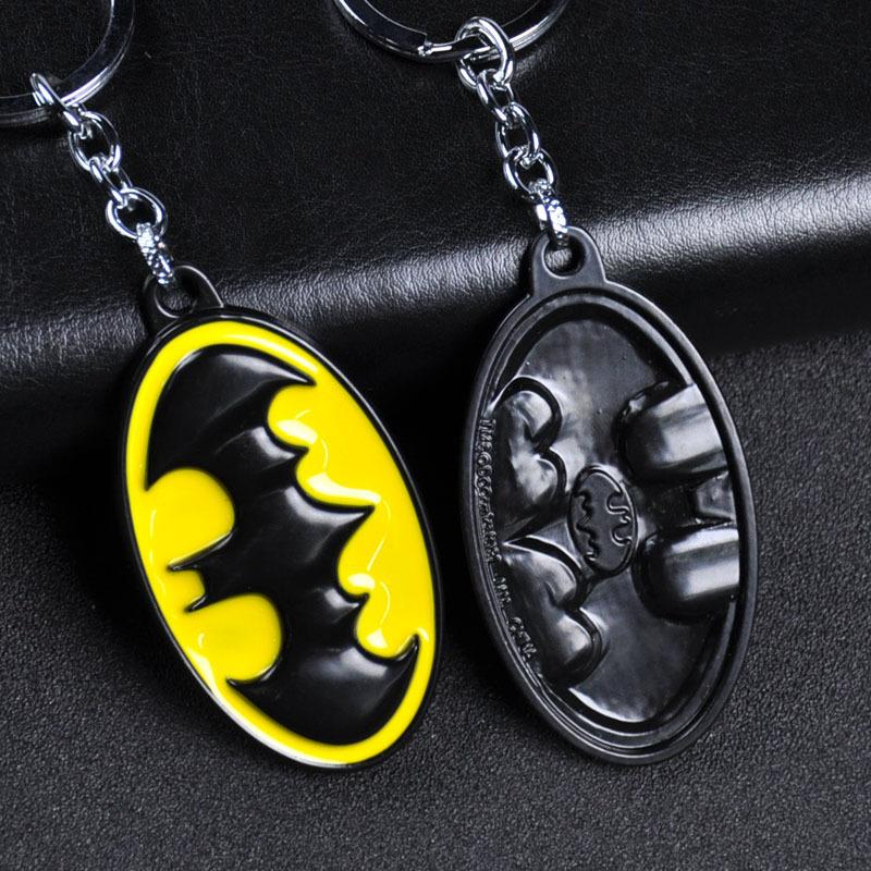 DC Comics Superhéroe Batman Logo Llaveros Llavero Keyfob Keyring de Aleación Regalo