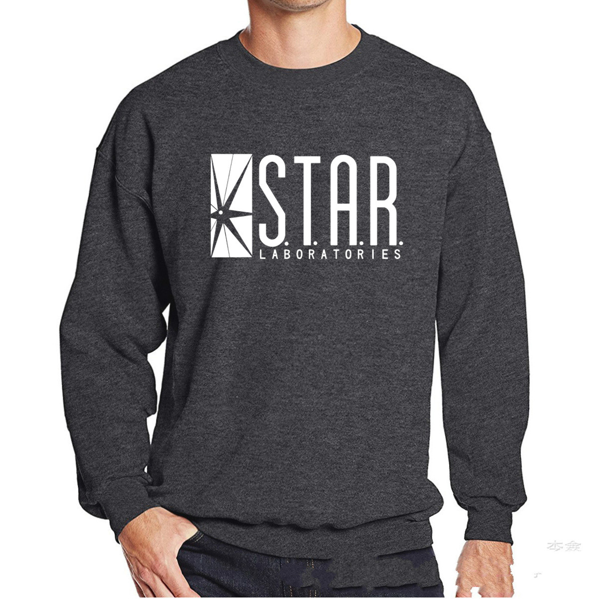 STAR LABORATORIES HOODIE THE FLASH S.T.A.R Labs Sizes 3-4years to XXL