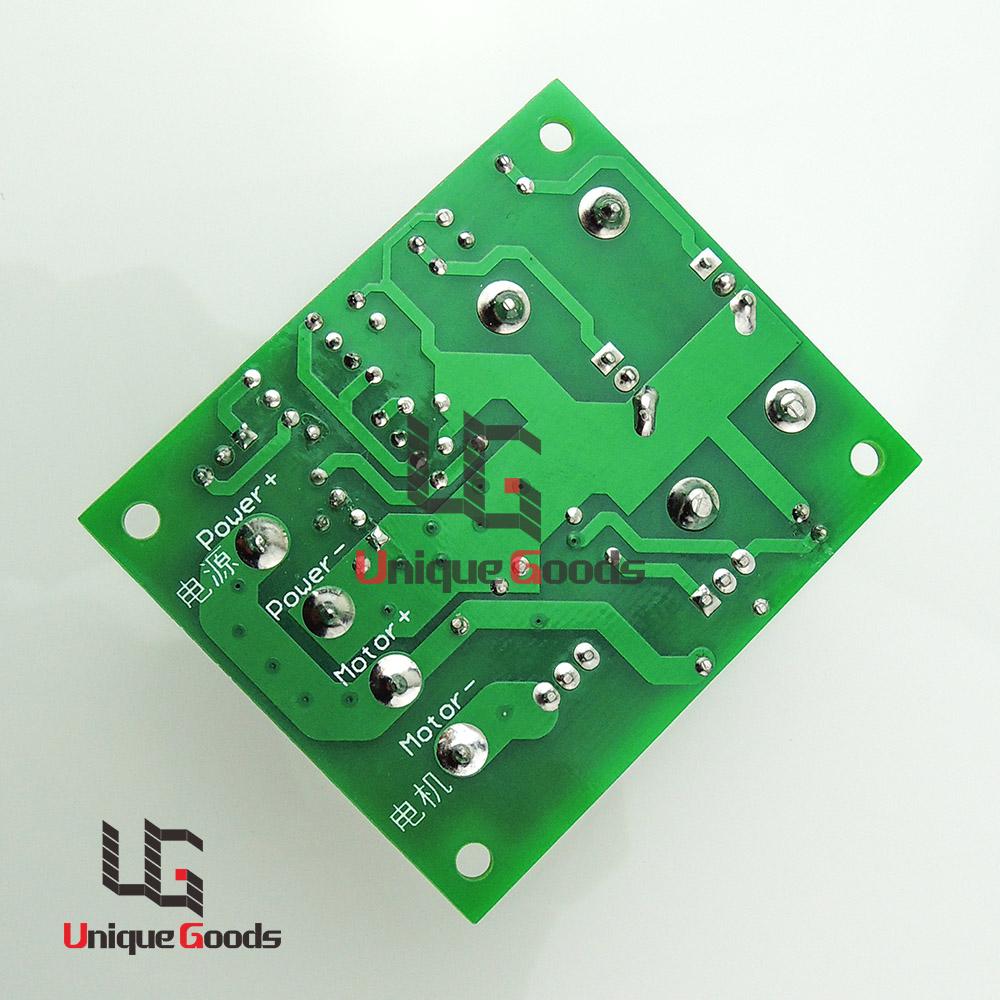 DC Motor Speed Controller Adjustable Variable Uniquegoods 6V 12V 24V DC 10A PWM