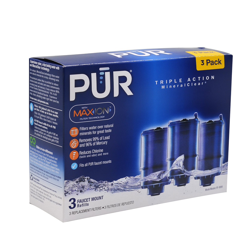 3~12 Pack PUR MAXION MineralClear REPLACEMENT FILTER RF-9999 3 ...