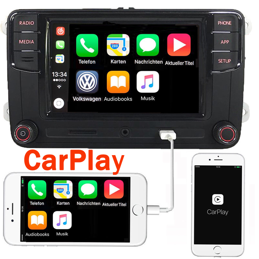 autoradio rcd330 bt carplay mirrorlink android auto rvc. Black Bedroom Furniture Sets. Home Design Ideas